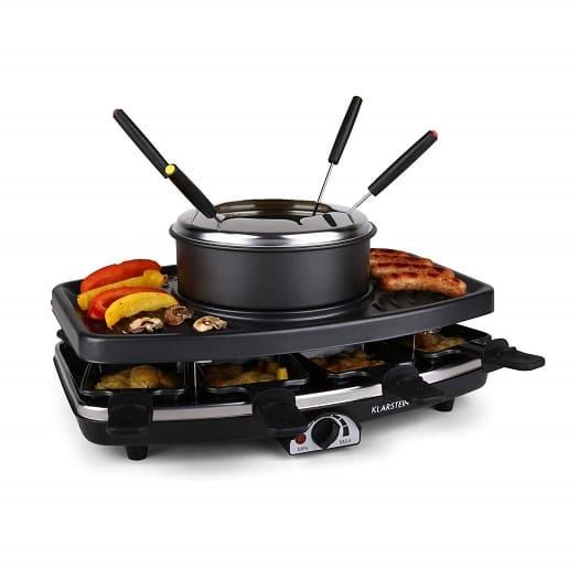 mejor-fondue-raclette-klarstein-entrecote-parrilla